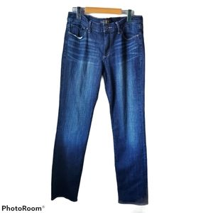 Lucky Brand sweet straight denim jeans, size 10
